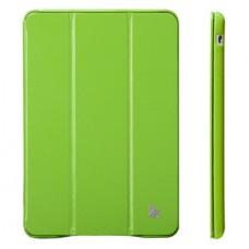 Чехол JisonCase Classic Smart Case для iPad mini Retina (Зелёный)