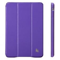 Чехол JisonCase Classic Smart Case для iPad mini Retina (Фиолетовый)