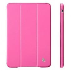 Чехол JisonCase Classic Smart Case для iPad mini Retina (Ярко-розовый)