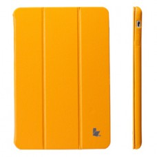 Чехол JisonCase Classic Smart Case для iPad mini Retina (Жёлтый)