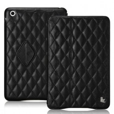 Чехол JisonCase Quilted Smart Cover для iPad mini Retina (Чёрный)