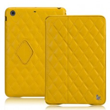 Чехол JisonCase Quilted Smart Cover для iPad mini Retina (Жёлтый)
