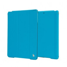 Чехол JisonCase Premium Smart Cover для iPad Air (Синий)
