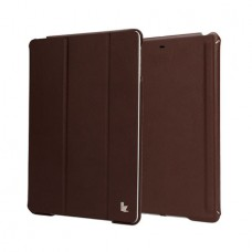 Чехол JisonCase Premium Smart Cover для iPad Air (Коричневый)