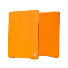 Чехол JisonCase Premium Smart Cover для iPad Air (Жёлтый)