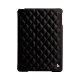JisonCase Quilted Leather Smart Case для iPad Air (Чёрный)