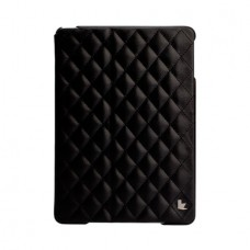 Чехол JisonCase Quilted Leather Smart Case для iPad Air (Чёрный)