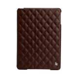 JisonCase Quilted Leather Smart Case для iPad Air (Коричневый)
