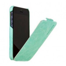 Borofone General Flip Leather Case для iPhone 5/5S (Синий)