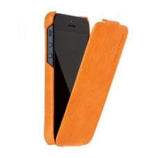Borofone General Flip Leather Case для iPhone 5/5S (Оранжевый)