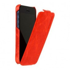 Borofone General Flip Leather Case для iPhone 5/5S (Красный)