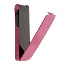 Borofone General Flip Leather Case для iPhone 5/5S (Розовый)