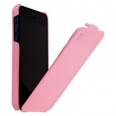 HOCO Duke Leather Case для iPhone 5/5S (Розовый)