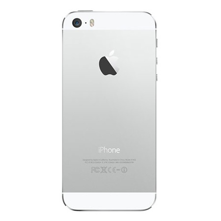 apple iphone 5s 64gb silver model a1457 a1530. Black Bedroom Furniture Sets. Home Design Ideas