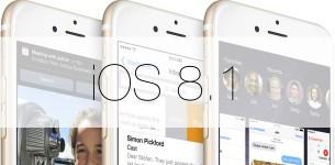 Выпущена финальная версия iOS 8.1
