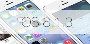 Компания Apple выпустила iOS 8.1.3