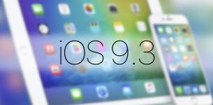 Apple выпустила финальную версию iOS 9.3